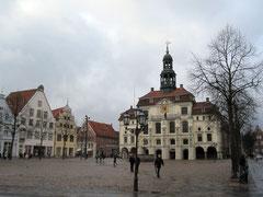 Marktplatz mit Rathaus, Lüneburg