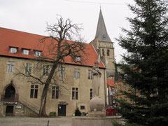 altes Rathaus und Marktplatz der Altstadt, Warburg