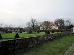 Schloss Gesmold, Lustgarten