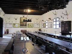 Burg Hardegg, repräsentativer Saal