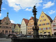 Rothenburg o.d. T., Marktplatz