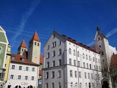 Alter Kornmarkt und Stiftskirche Niedermünster, Regensburg