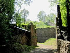 Burg Donaustauf, ehemaliges erstes Tor