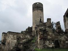 Burg Kollmitz, Hochburg der Hauptburg mit Bergfried