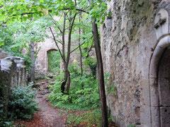 Burg Rauheneck, nördliche Vorburg