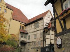 Stiftsberg mit Dechanei und Stiftshauptmannei, Quedlinburg
