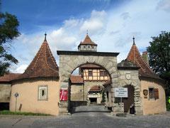 Rothenburg o.d. T., Röderbastei