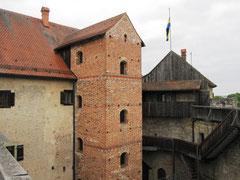 Burg Wolfsegg, Palas und Treppenturm