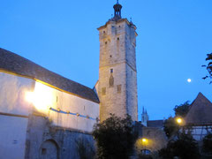 Rothenburg o.d. T., Klingentor und Wolfgangskirche