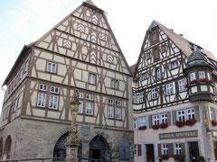 Rothenburg o.d. T., Fleisch- und Tanzhaus und Jagstheimerhaus