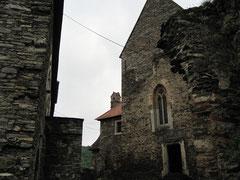 Burg Hardegg, Küche und Kapelle
