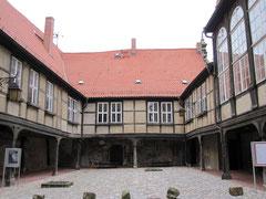 Stiftsberg mit Renaissancegebäuden, Quedlinburg