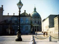 Schloss Amalienborg und Marmorkirche, Kopenhagen