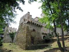 Burg Liechtenstein, Reste der äußeren Ringmauern