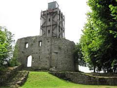 Burg Brennberg, Bergfried/Aussichtsturm
