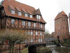 Lüner Mühle und Abtswasserturm, Lüneburg