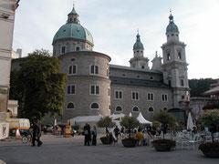 Residenzplatz und Dom, Salzburg