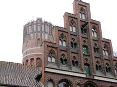 Kalandhaus und Wasserturm, Lüneburg