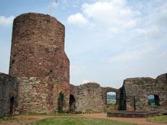 Burg Polle, Hauptburg mit Bergfried
