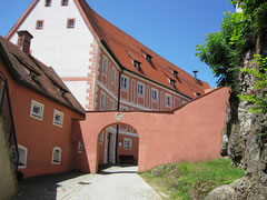 Burg Parsberg, Obere Burg