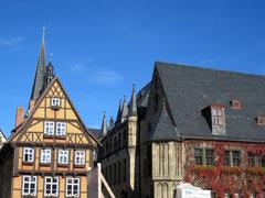 Rathaus und Hoken, Quedlinburg