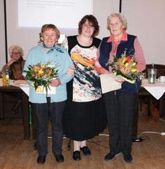 Ehrung der Ortsvertrauensfrauen (Foto v. Gabriele Scheibner)