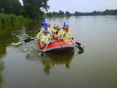 Marineking - Schlauchbootverleih Kollau