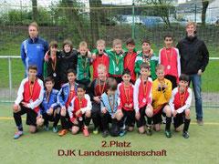 2. Platz für die D-Jugend des DV Essen (Foto: a.b.).