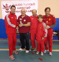 Il Messina 4° classificato cat. Team