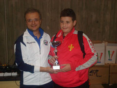 Zangla 4° classificato Under 15