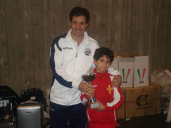 Riccardo Natoli 4° classificato Under 12