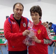 Armando Giuffrè vincitore Under 19