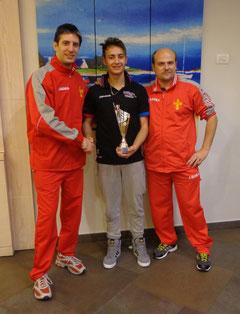 Claudio Panebianco vincitore della categoria Open