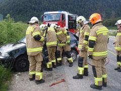 Übung KFZ-Unfall