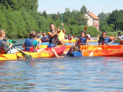 canoë kayak rafting picquigny somme picardie