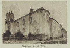 Костел-замок фото початку XX ст.