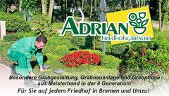 Grabpflege in ganz Bremen und Umzu!