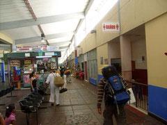 Der Terminal de Transporte in Santa Marta