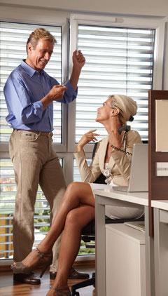 Frische Luft ohne Raumauskühlung statt verbrauchter Luft. Sauerstoff aktiviert und mit WINFLIP werden Mitarbeiter davon entlastet, an offene Fenster denken zu müssen.