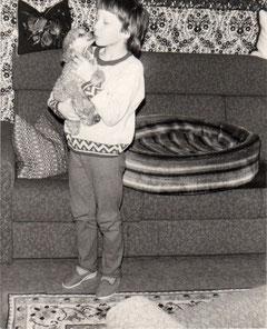 Ein Foto aus dem Jahre 1987
