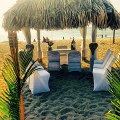 hochzeit am Strand Curacao