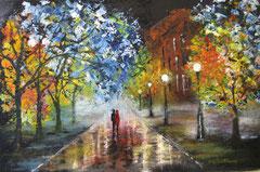 Promenade après la pluie