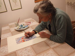 Tiziana dioguardi at work