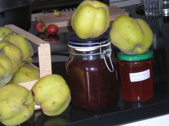 Quinces, quince jam, quince jelly.....