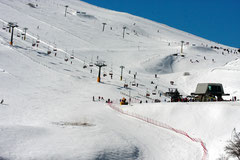 The ski lifts at Sassotetto      Photo by N. Joseph