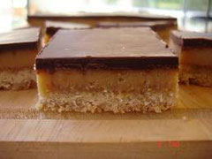 Chocolate Caramel slice - Yum!!