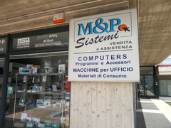 The computer shop in Comunanza