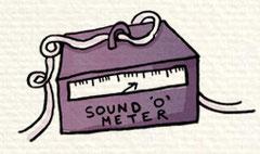 Sound o' Meter. Danny Baker Record Breaker.