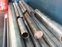 青木防災の配管工事で使用する配管