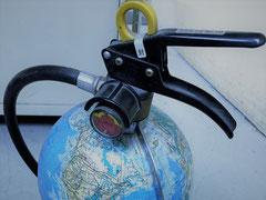 地球儀消火器